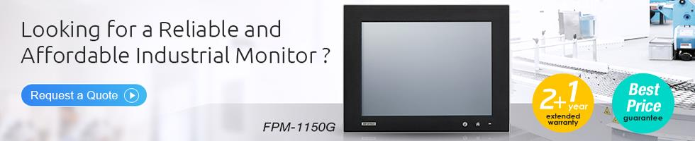 Reliable & Affordable Industrial Monitor