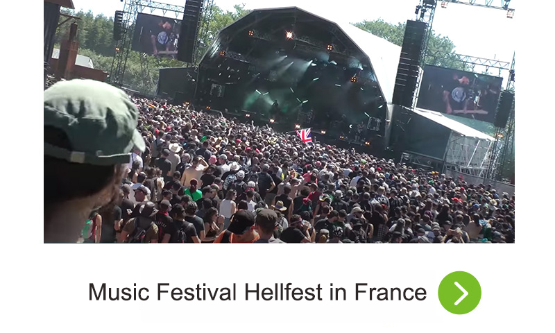 Music Festival Hellfest in France